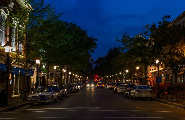 Blue Hour on King Street