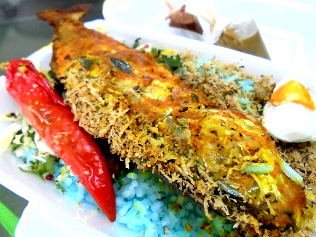 Nasi kerabu 1