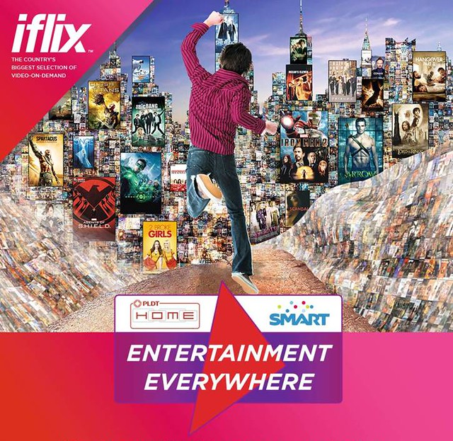 PLDT Smart iflix partnership