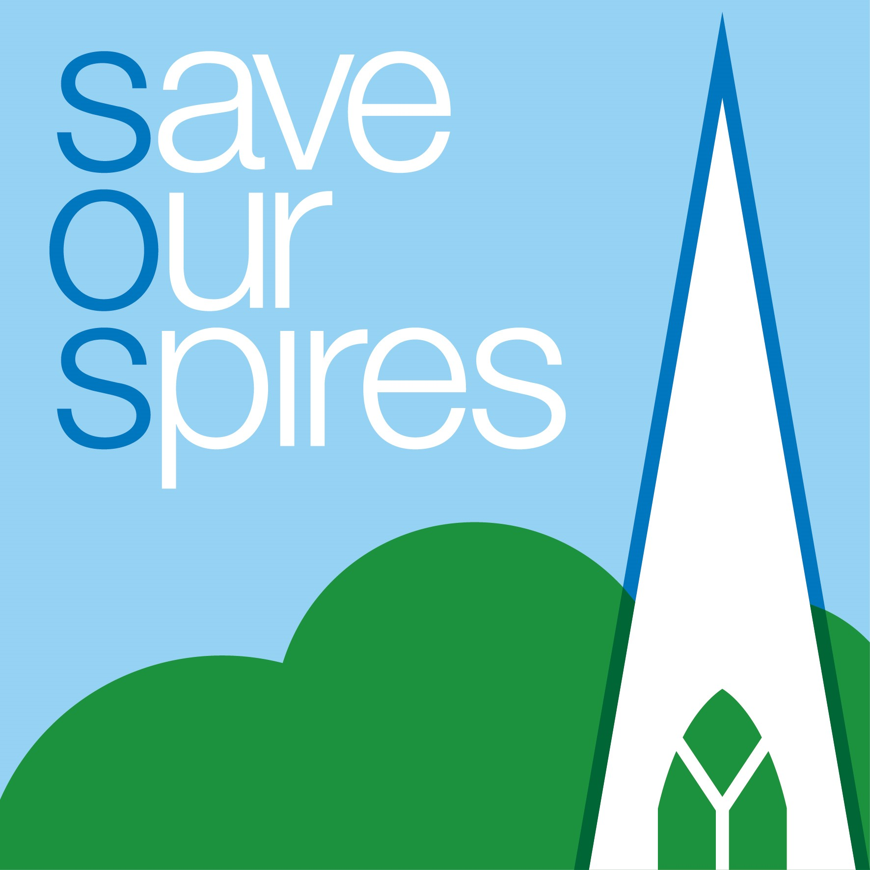 Save our Spires logo