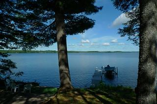 Maine - Lake Pushaw peaceful time