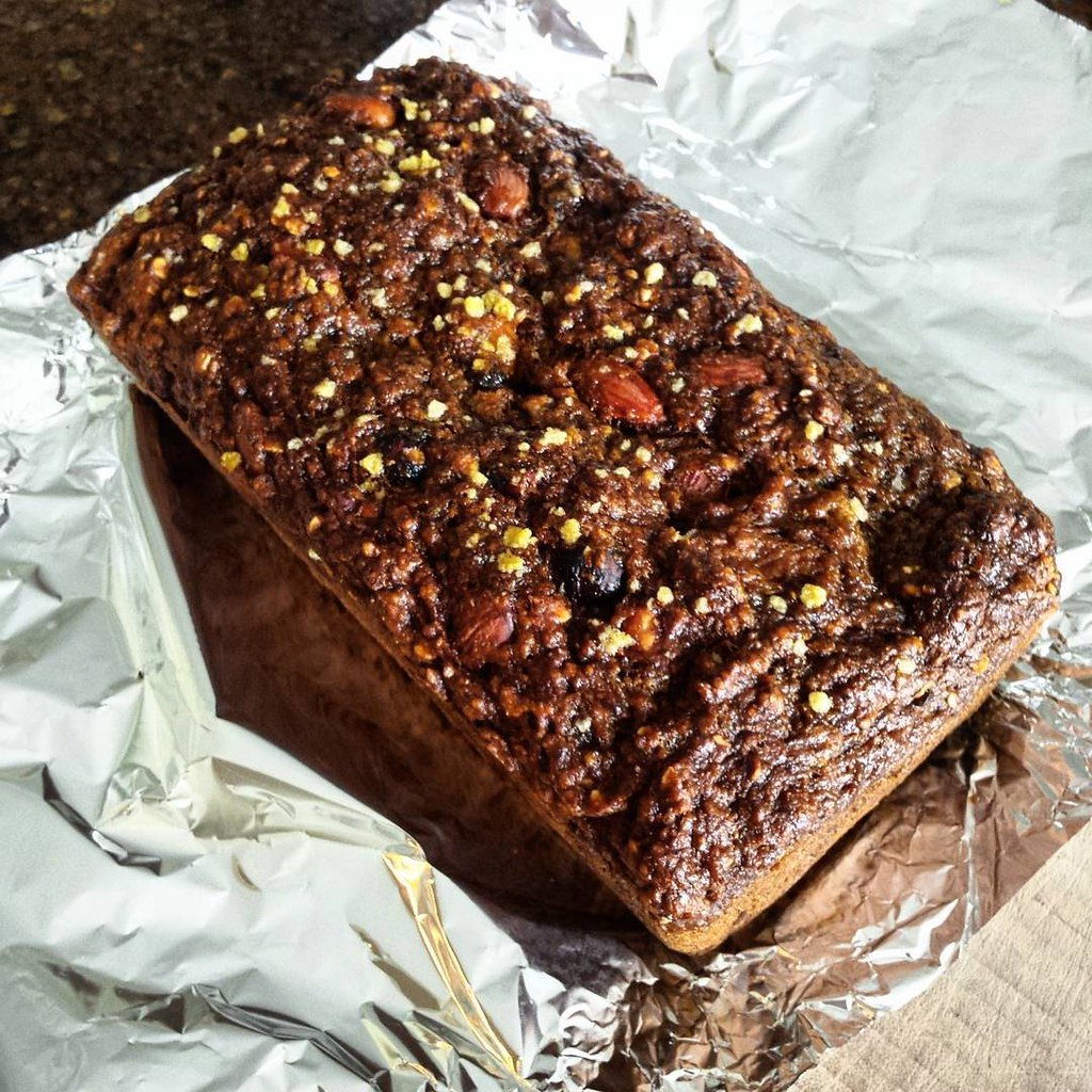 Caramel - Nut Banana Bread