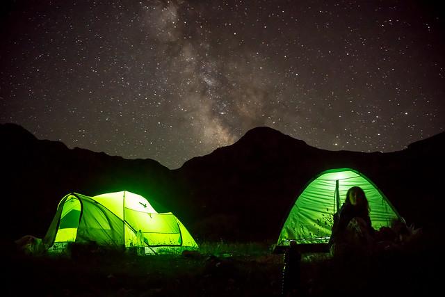 Verliga night camping