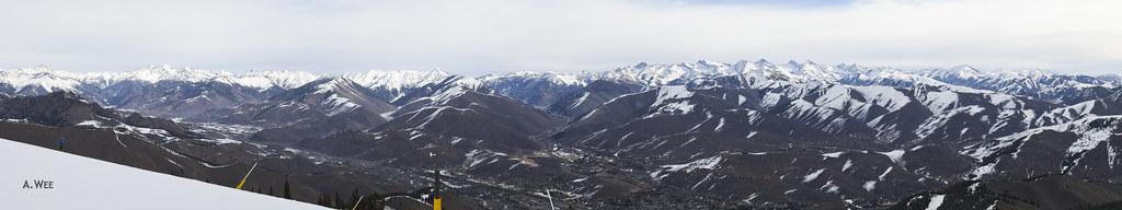 Summit panorama at Bald Mountain