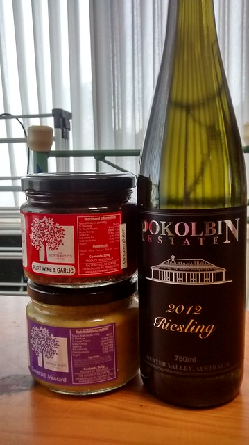 pokolbin wine and olives