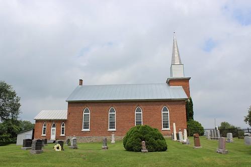 ontario church cemetery église cimetière on