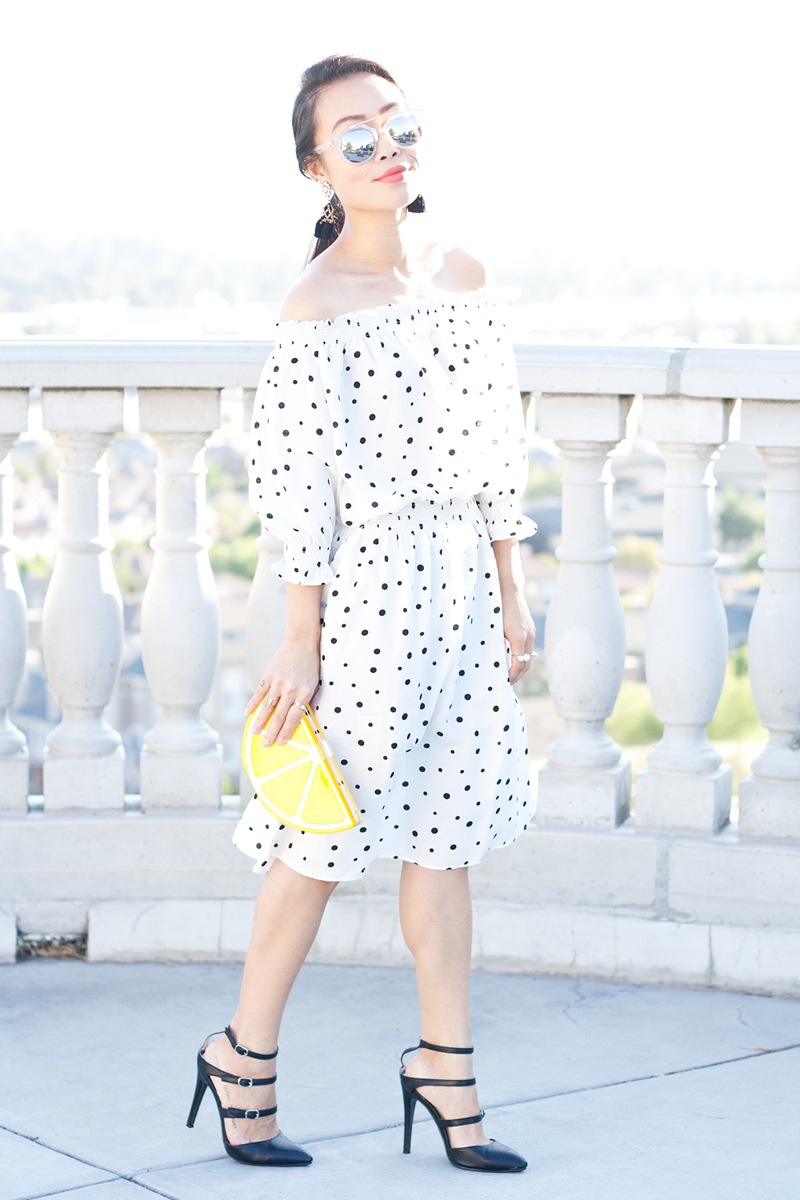 05-lemon-dots-off-shoulder-dress-sf-sanfrancisco-fashion-style