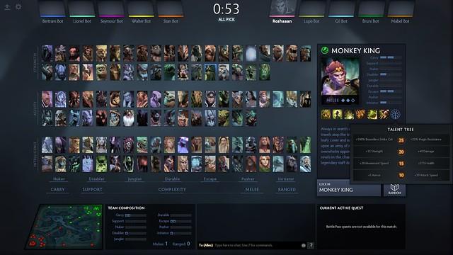 monkey king plus selecting hero