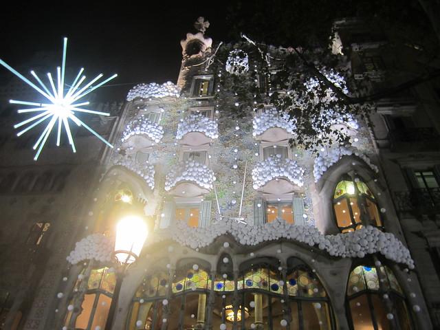 Casa Batlló. Nadal 2016. Navidad., Canon IXUS 115 HS