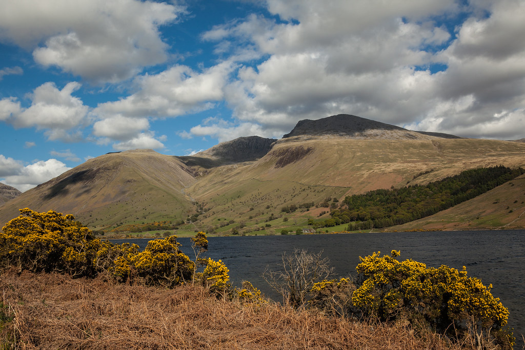 The Scafell Massif from Overbeck
