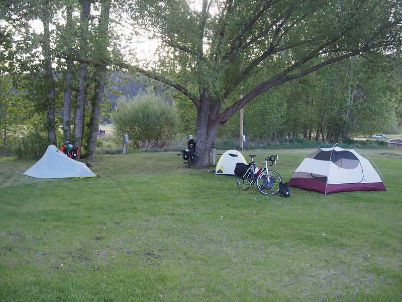 Ferry County Fairgrounds Campground: Where Kyle, Alex, and I camped.