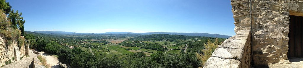 Panorama from Gordes