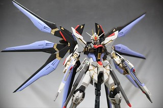 【玩具人K-Evo Gunpla投稿】Neograde MG Strike Freedom Gundam改造作品分享!