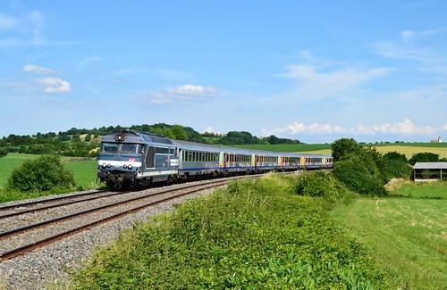 🇫🇷 SNCF BB 67571 + TER 830906 te Alteckendorf