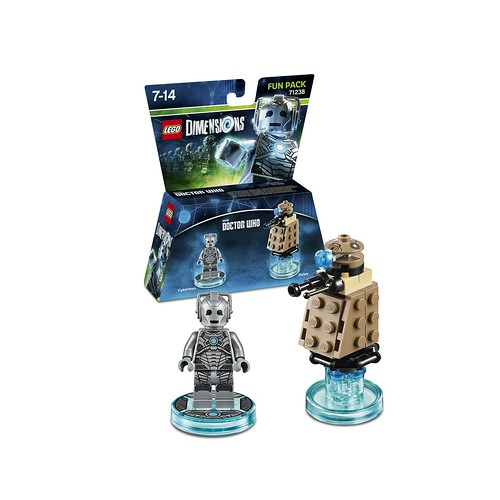 LEGO Dimensions Doctor Who Cyberman Fun Pack (71238)