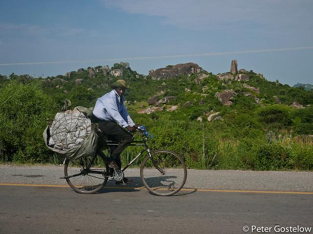 Kenyan cyclist