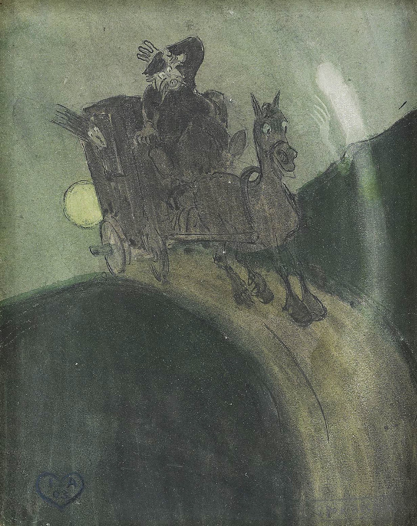 Ivar Aronsenius - The ghost of Varmland, 1903