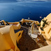 Sea view from Santorini, Greece by ` Toshio '