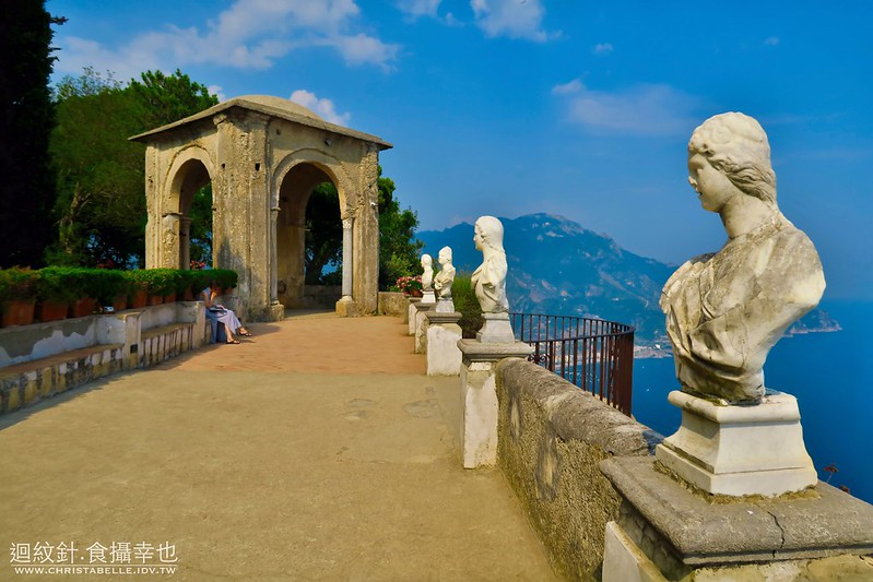 The Terrace of Infinity, Villa Cimbrone, Ravello, Amalfi Coast, Italy