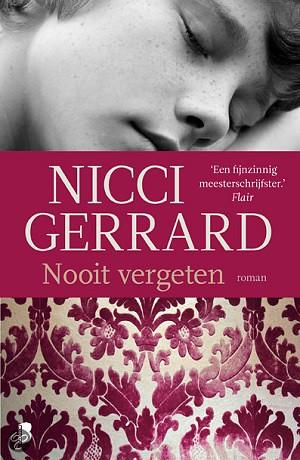 Nicci Gerrard -  Nooit vergeten