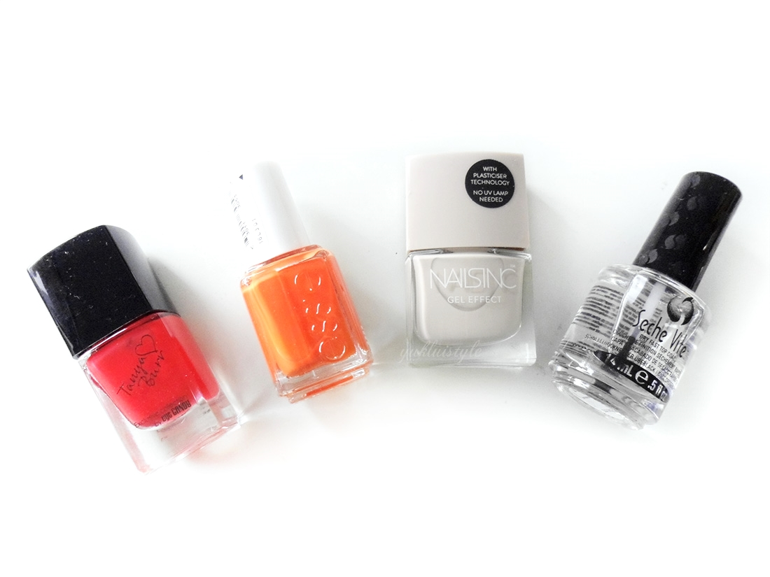 mailbox review tanya burr essie nails in seche vite