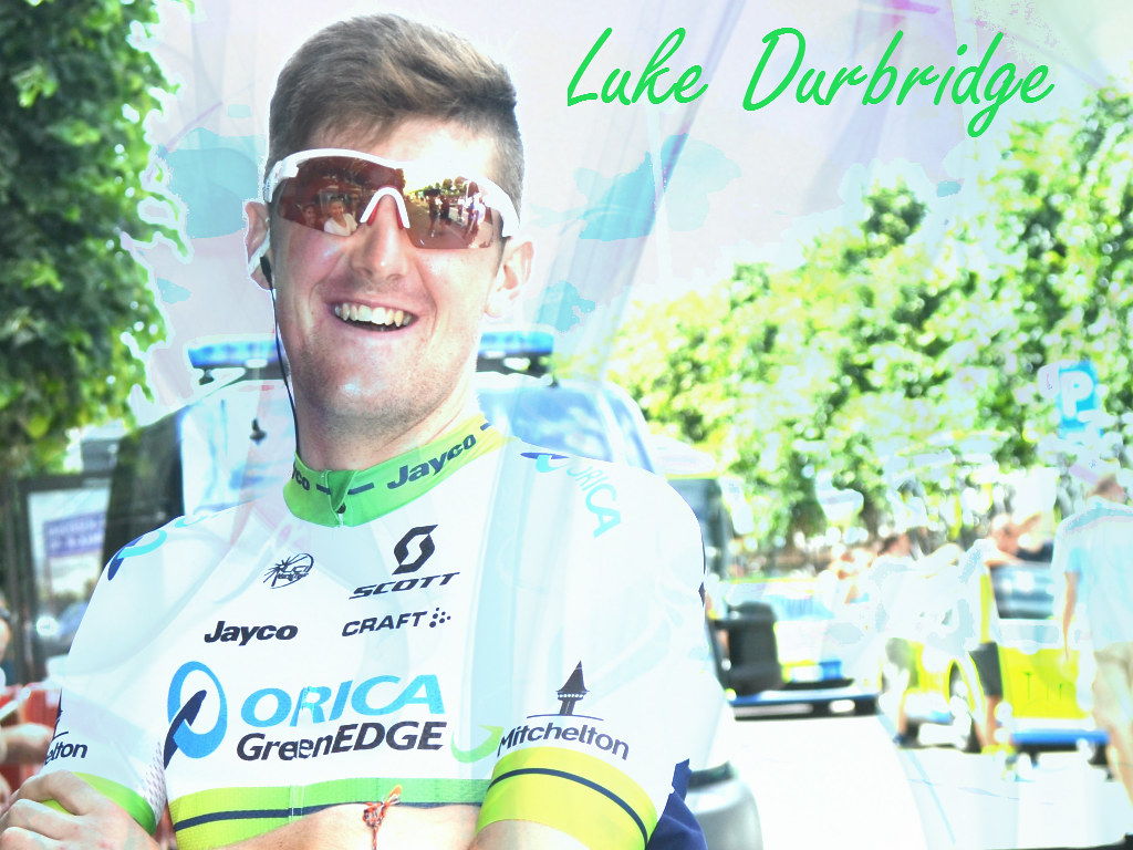 Wallpaper Luke Durbridge TDF15