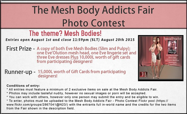 Mesh Body Addicts Fair - Photo Contest!