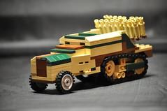 Leichter Reihenwerfer (16 Rohre) auf Fahrgestell Somua MCG, Kennummer S307(f)