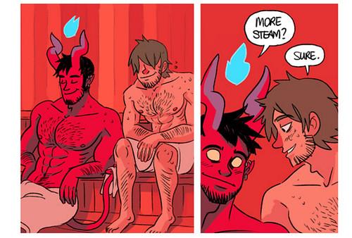 gay horror monsters comic