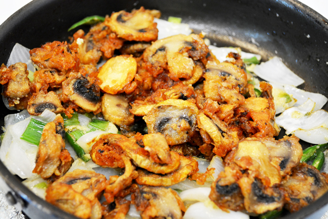Chilli Mushroom Recipe - Step18