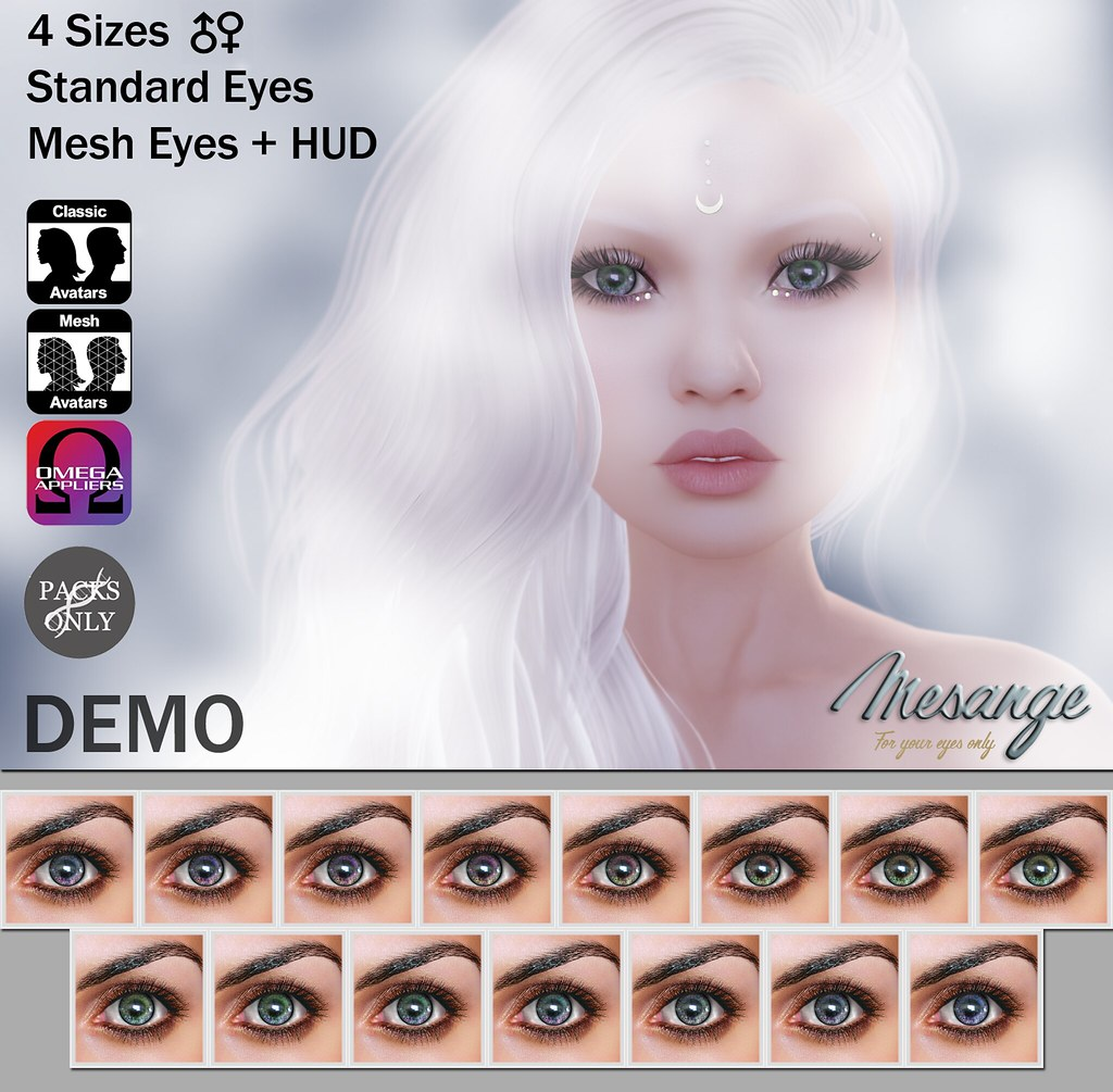 MESANGE - Taiga Eyes for WINTER TREND SL 2016 - SecondLifeHub.com