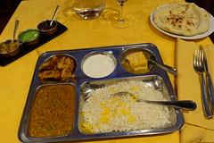 Keema Matar lunch set @ Les Jardins de Shah Jahan @ Montparnasse @ Paris