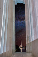 Lincoln Monument Milky Way View