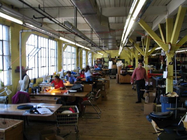 production half of factory in 2003
