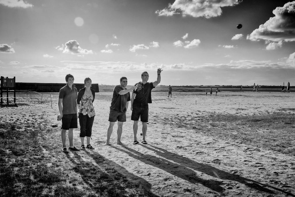 Pétanques on ze beach