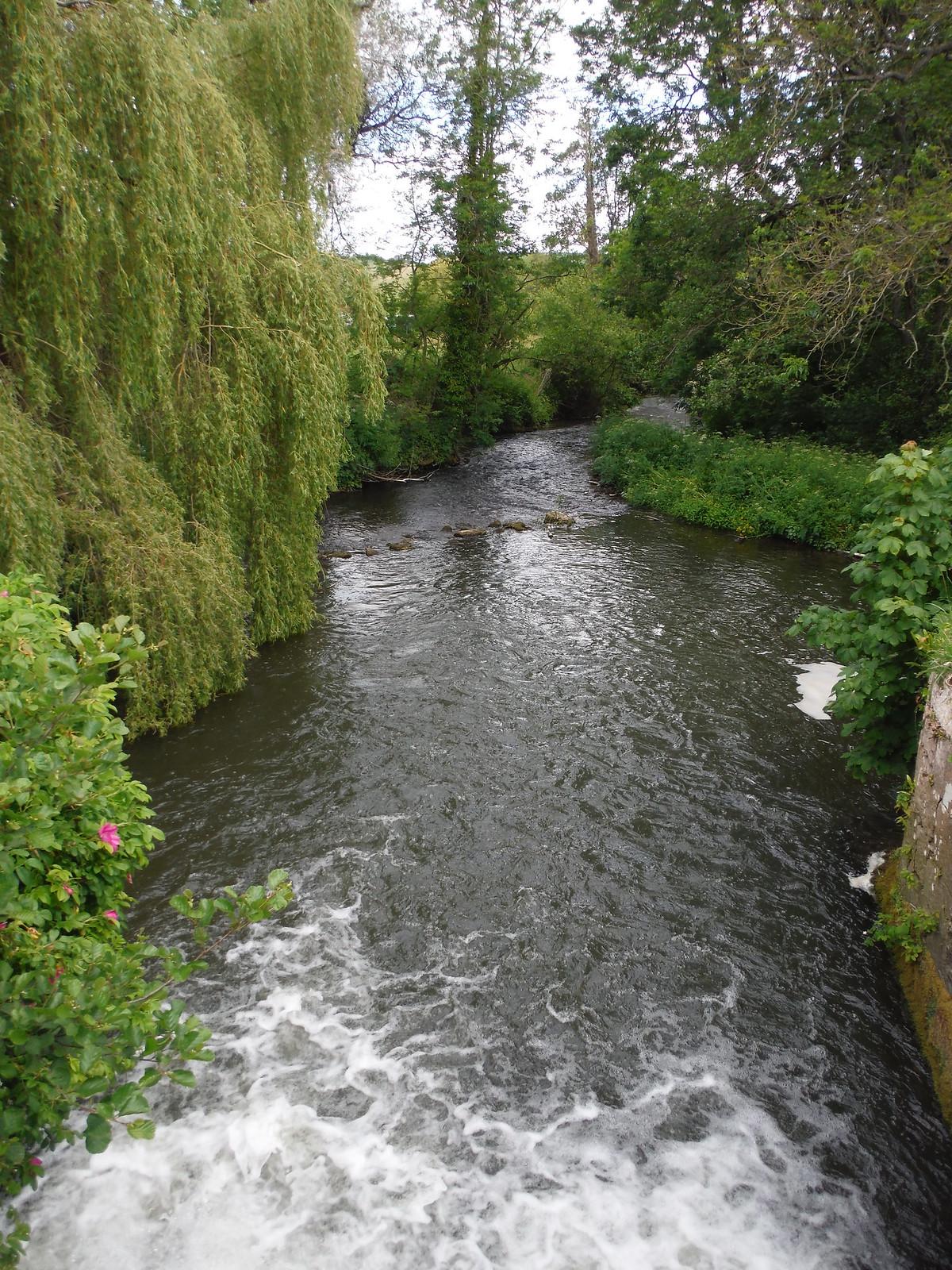 The Nadder by Tisbury Mill SWC Walk 249 Tisbury Circular via Dinton and Fovant