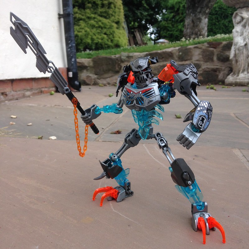 Warriors Fire And Ice Word Count: MOC: Morda The Skull Crusher