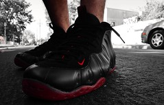 2010 Nike Cough Drop Foamposite One