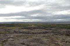 Panorama von Anhöhe in Mosfellsbær