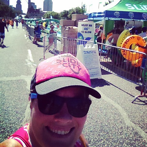 @slidethecity twice already and my arms are tired!!!