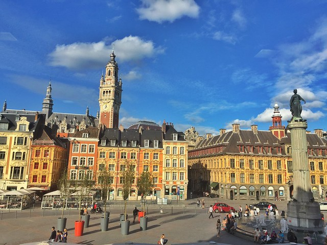 Grand Place de Lille (Norte de Francia)