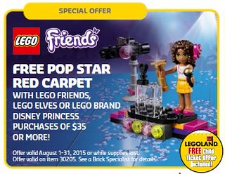 LEGO Shop Pop Star Red Carpet