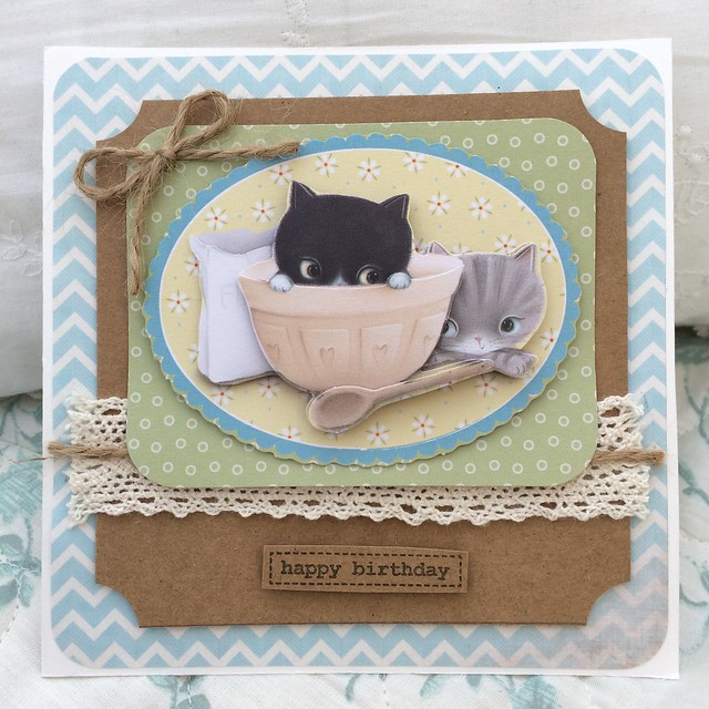 Little Meow card by StickerKitten