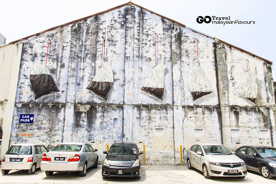 Ipoh Wall Art Murals by Ernest Zacharevic