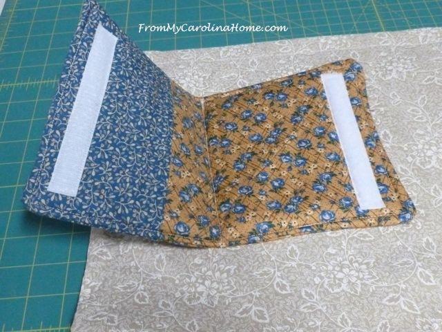 Alzheimer's Fidget quilt 25