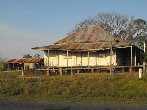 Abandoned House Calliope near Ulmarra Lower Clarence 2009-08