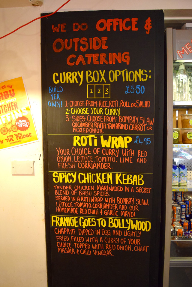 Outside Catering at Babu Bombay Street Kitchen, Glasgow
