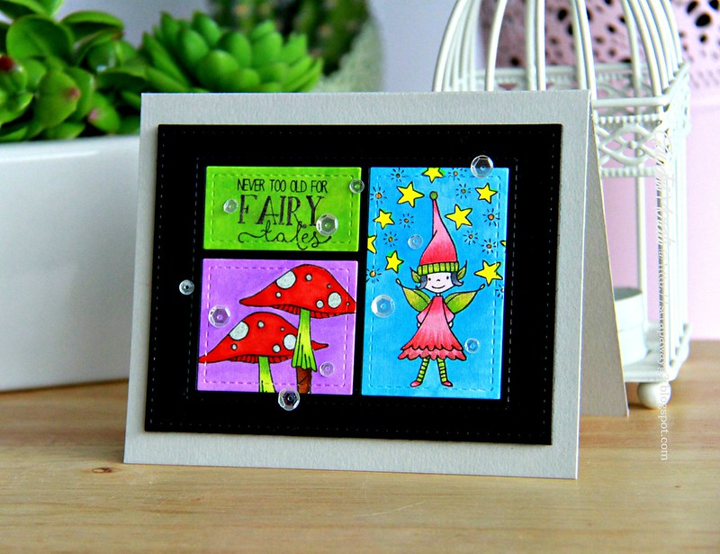 Fairy tale story book card