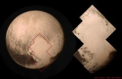 Close-up of Pluto's 'Heart'