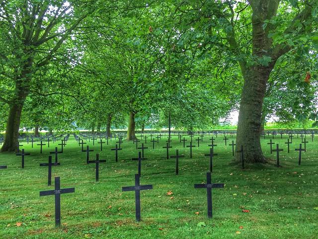 Cementerio alemán de Illies (Norte de Francia)